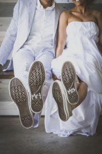 Mariés en baskets