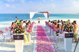 mariage sur une plage